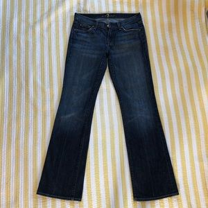 7 for all mankind bootcut jeans. Size 29
